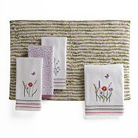 Rainbow Garden Bath Towel Collection