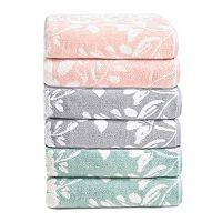 Loft by Loftex Floral Block Bath Towel Collection