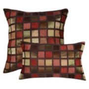 Spencer Home Decor Windowpane Geometric Throw Pillow Collection