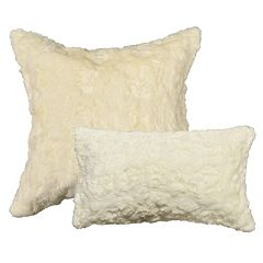 Spencer Home Decor Ozzie Faux Fur Throw Pillow Collection