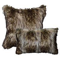 Spencer Home Decor Richmond Faux Fur Throw Pillow Collection