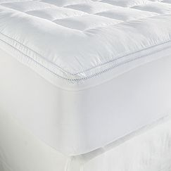 Chaps Cluster Puff Down-Alternative Mattress Pad