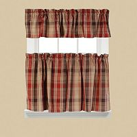 Cooper Tier Kitchen Window Curtains
