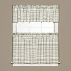 Marina Tier Kitchen Window Curtains