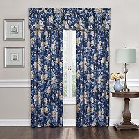 Traditions by Waverly Forever Yours Floral Window Treatment Collection