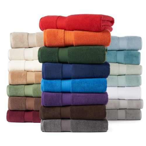 Chaps Home Richmond Turkish Cotton Luxury Bath Towel Collection by Kohl's