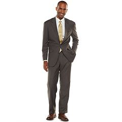 Croft & Barrow® Classic-Fit Gray True Comfort Suit Separates - Men