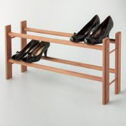 Cedar America 2-Tier Shoe Rack