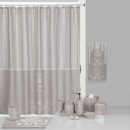 Creative Bath Shower Curtain creative bath royal hotel shower curtain collection