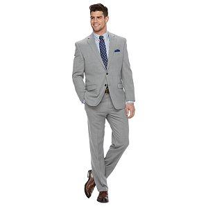 Men's Chaps Classic-Fit Wool-Blend Stretch Suit Separates