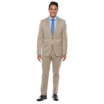 Men's Apt. 9® Premier Flex Extra-Slim Fit Tan Suit Separates