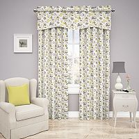 Traditions by Waverly Set In Spring Floral Window Treatment Collection