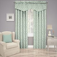 Traditions by Waverly Duncan Damask Window Treatment Collection