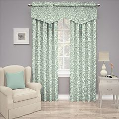 Traditions by Waverly Duncan Damask Window Treatments