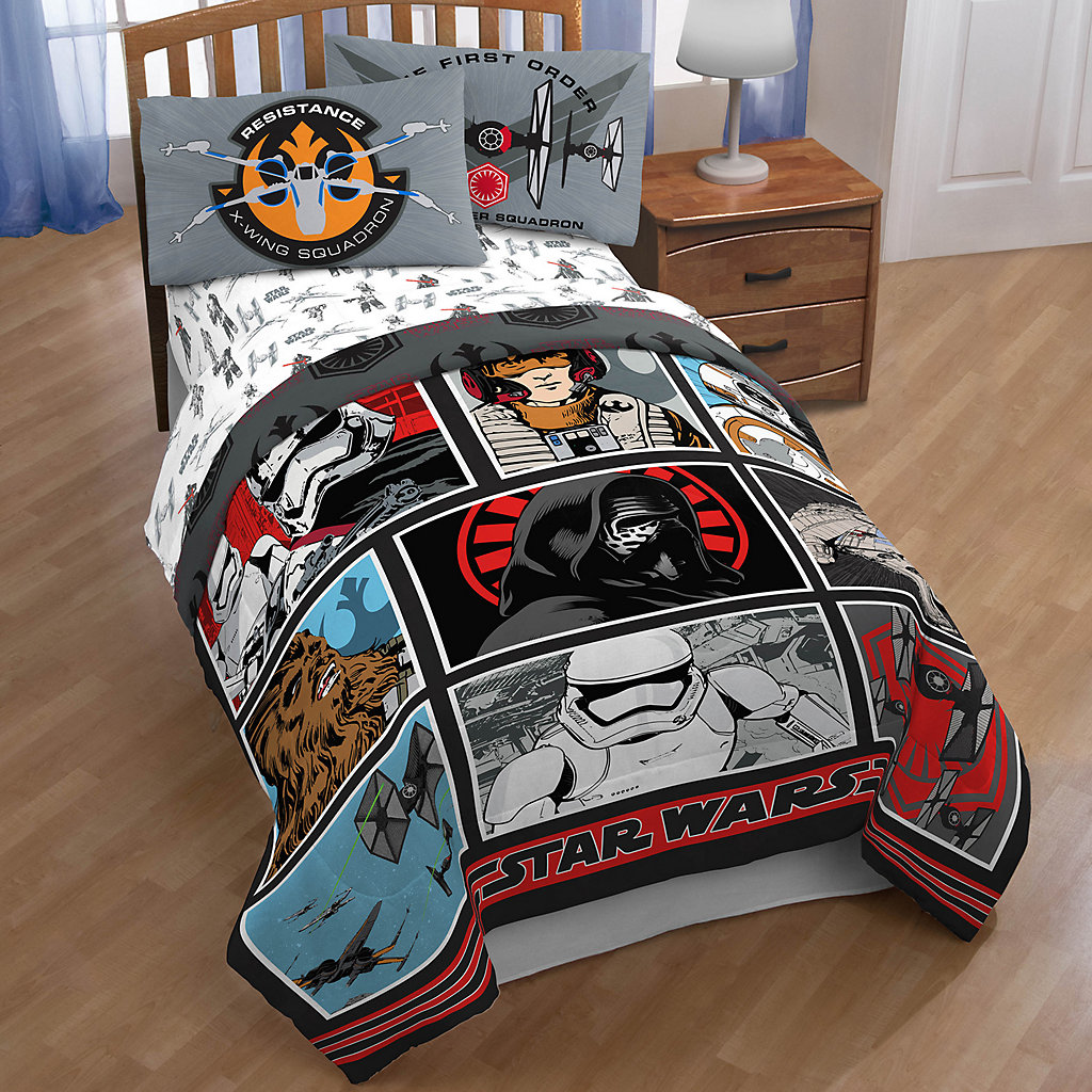 Star Wars: Episode VII The Force Awakens Galactic Battle Comforter Collection