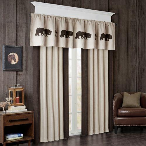 Woolrich Watson Bear Window Treatment Collection