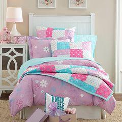 Butterfly Garden Cotton Percale Comforter Collection