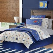 Space Cotton Percale Comforter Collection