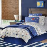 Space Cotton Percale Duvet Cover Collection