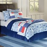 Lullabye Bedding Airplanes Cotton Percale Comforter Collection