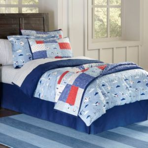 Airplanes Cotton Percale Duvet Cover Collection