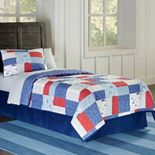 Airplanes Cotton Percale Quilt Collection