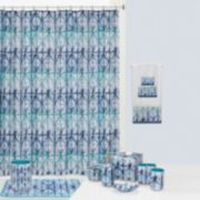 Creative Bath Shibori Shower Curtain Collection