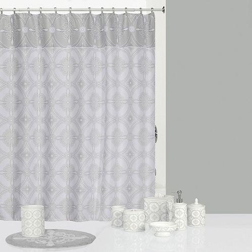 Curtains Ideas ariel shower curtain : Adams Ariel Shower Curtain Collection