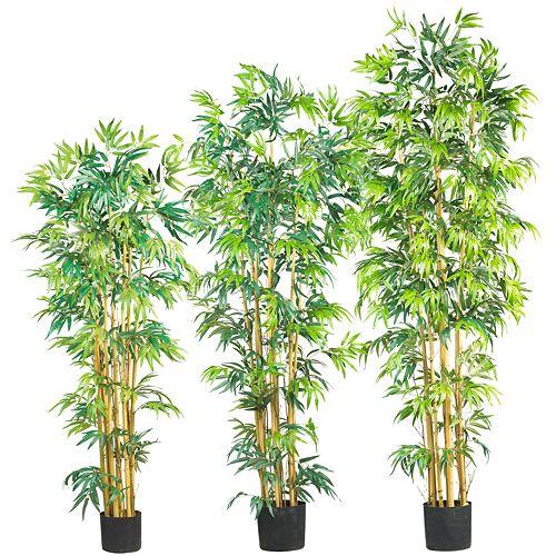 nearly natural Silk Bambusa Bamboo Trees