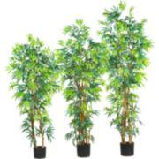 nearly natural SilkFancy Bamboo Trees