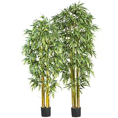 nearly natural Silk Biggy Bamboo Trees