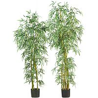 <strong>nearly natural Silk&nbsp;Fancy Slim Bamboo Trees</strong>