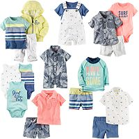Baby Boy Carter's Oceanside Mix & Match Little Collection