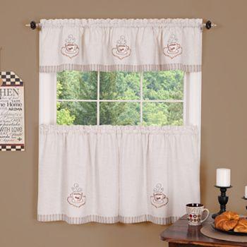 No 918 hoot tier kitchen curtains - Kohls kitchen curtains ...