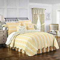 Waverly Paisley Verveine Quilt Collection