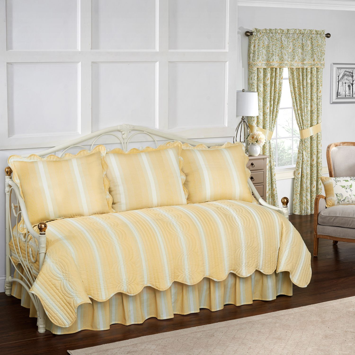waverly paisley verveine daybed collection