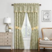Waverly Paisley Verveine Window Treatments
