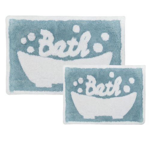 Park B Smith Bubble Bath Bath Rug Collection