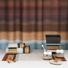 Jessen Stripe Bathroom Accessories Collection