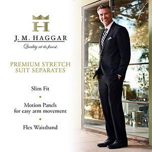 Men's J.M. Haggar Premium Slim-Fit Stretch Suit Separates