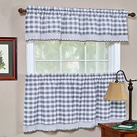 Achim Buffalo Check Window Treatments