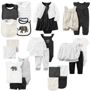 Baby Girl Carter's Little Traveler Mix & Match Collection