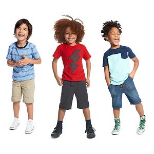 Boys 4-10 Jumping Beans® Shorts & Tees Mix & Match Outfits