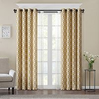 Madison Park Gianna Layered Window Treatment Collection