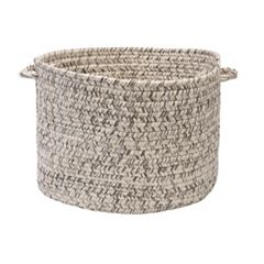 Colonial Mills Shaded Tweed Indoor Outdoor Utility Basket