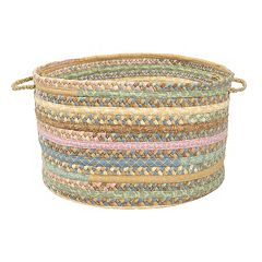 Colonial Mills Fabric Braid Utility Basket