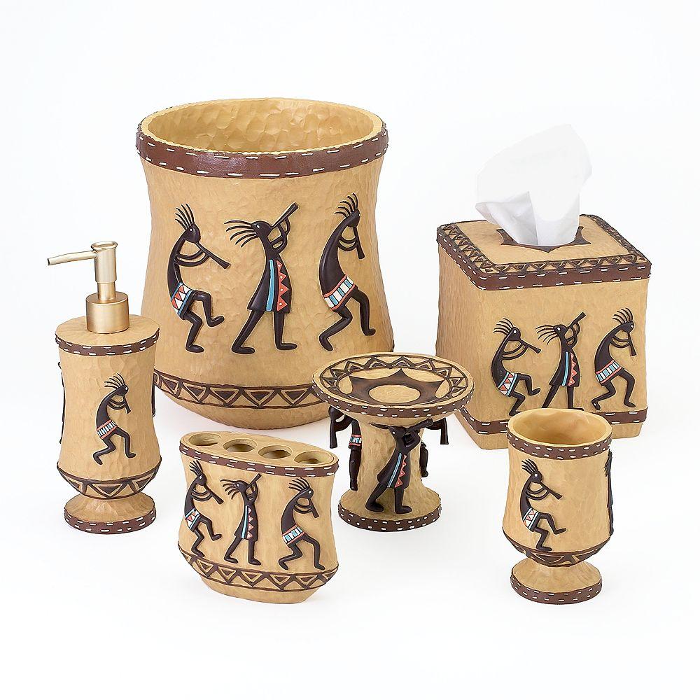 Avanti Kokopelli Bathroom Accessories Collection