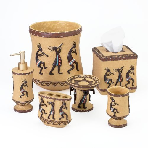 kokopelli bathroom accessories collection