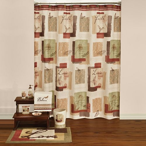Saturday Knight Ltd Inspire Shower Curtain Collection