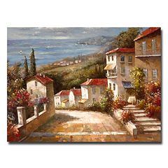 'Home in Tuscany' Canvas Wall Art